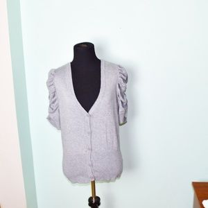 Worthington Grey Button Down Cardigan